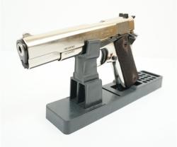 Охолощенный СХП пистолет 1911-СО Kurs (Colt) 10x24, хром