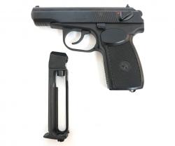 Пневматический пистолет МР-654К-32 (ПМ, черная рукоять)